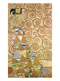 Study for Expectation (Stoclet Frieze), about 1905/09 Giclée-Druck von Gustav Klimt