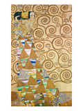 Study for Expectation (Stoclet Frieze), about 1905/09 Posters by Gustav Klimt
