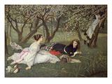 Spring, 1865 Prints by James Tissot