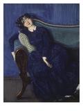 Schlafende Junge Frau Giclee Print by Konstantin Somow