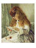 Der Brief Giclee Print by Otto Franz Scholderer