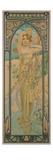 Alphonse Mucha - The Times of the Day: Brightness of Day, 1899 Digitálně vytištěná reprodukce