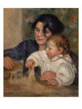 Gabrielle and Jean Posters by Pierre-Auguste Renoir
