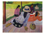The Siesta, about 1892-94 Prints by Paul Gauguin