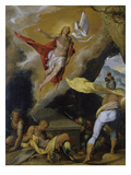 Resurrection, 1576 Posters by Bartholomaeus Spranger