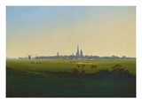 Wiesen Bei Greifswald, um 1822 Prints by Caspar David Friedrich
