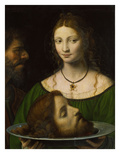Salome with the Head of John the Baptist Prints by Bernardino Luini