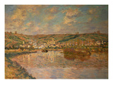 End of the Afternoon, Vetheuil, 1880 Giclee Print by Claude Monet