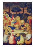 The Entombment, about 1340 Poster af Simone Martini