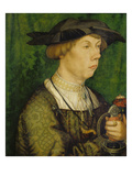 Bildnis Eines Herrn Weiss Aus Augsburg, 1515 Poster by Hans Holbein the Younger