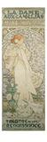 La Dame Aux Camelias with Sarah Bernhardt. Poster for the Theatre De La Renaissance, 1896 Giclée-tryk af Alphonse Mucha