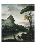Heroic Landscape with Fishermen, 1818 Prints by Théodore Géricault