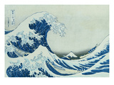 The Great Wave of Kanagawa, 1831 Giclee Print by Katsushika Hokusai