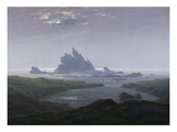 Felsenriff Am Meeresstrand, 1824 Giclee Print by Caspar David Friedrich
