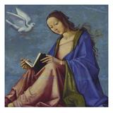 Mary Reading Giclée-Druck von Lorenzo Costa