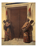 Die Tueren Des Timur-Mausoleums in Samarkand, 1871/72 Giclee Print by Wassili Werestschagin
