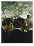 Musiciens a L'Orchestre, 1872 Giclee Print by Edgar Degas