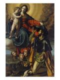 Madonna Mit dem Hl. Rochus (Vii) Giclee Print by Alessandro Turchi