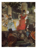 Cafe Concert at Les Ambassadeurs, 1875/77 Print by Edgar Degas