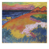 At the Baltic Sea, 1911 Print by Alexej Von Jawlensky