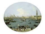 Venedig, Von S.Giorgio Maggiore Aus Gesehen Posters by  Canaletto