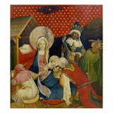 The Adoration of the Magi, Panel from the St. Thomas Altar, 1424-36 Giclee Print by Master Francke
