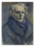 Portrait of the Painter Bernt Groenvold, 1923 Giclee Print by Lovis Corinth
