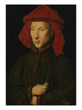 Portrait of Giovanni Arnolfini, about 1439/40 Giclee Print by  Jan van Eyck