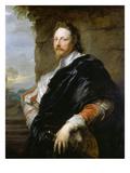 Portrait of Nicholas Lanier, 1628 Giclée-Druck von Sir Anthony Van Dyck