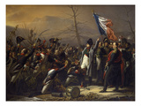 The Return of Napoleon from the Island of Elba in February, 1815. Created in 1818 Giclee Print by Charles Von Steuben