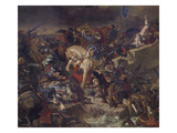 The Battle of Taillebourg, 21st July 1242, 1837 Prints by Eugène Delacroix