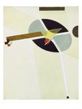 Proun G 7, 1923 Giclee-trykk av El Lissitzky