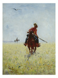 Auf Der Faehrte, 1881 Prints by Ilya Efimovich Repin