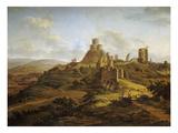 Launceton Castle Giclee Print by Hendrik Frans de Coort