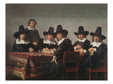 The Managers of the Haarlem Orphanage, 1663 Giclee Print by Jan de Bray