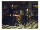 Peter I. Verhoert Den Zarewitsch Alexei Petrowitsch in Peterhof, 1871 Giclee Print by Nikolai Nikolajevitch Gay