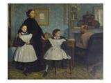 The Bellelli Family, 1858/60 Prints by Edgar Degas