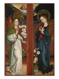 Verkuendigung Mariae. Fluegel Vom Orlier- Altar, 1465/1479 Giclee Print by Martin Schongauer