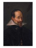 Prince Elector Maximilian I. of Bavaria (1573-1651) Giclée-tryk af German School