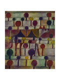 Kamel in Rhythmischer Baumlandschaft, 1920 Gicl&#233;e-Druck von Paul Klee