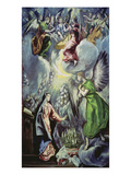 The Annunciation, about 1597/1600 Giclee Print by  El Greco
