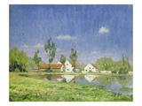 Landschaft Bei Dachau Giclee Print by Gustav Heinrich Münch-Mannheim