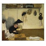 Madame Vuillard Sewing, 1895 Giclée-Druck von Edouard Vuillard