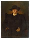 Portrait of Otto Von Bismarck in Civilian Dress, 1884 Giclée-Druck von Franz Seraph von Lenbach