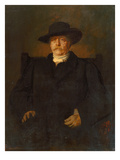 Portrait of Otto Von Bismarck in Civilian Dress, 1884 Posters by Franz Seraph von Lenbach