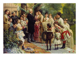 The 70th Birthday of the Councillor of Commerce Mannheimer, 1887 Giclee Print by Anton von Werner