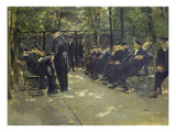 Men's Retirement Home in Amsterdam, 1882 Giclee Print by Max Liebermann