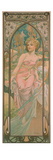 The Times of the Day: Morning Awakening, 1899 Giclee Print by Alphonse Mucha