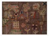 The Gingerbread House, 1925 Giclee Print by Paul Klee