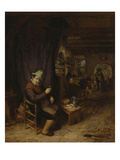 The Jolly Reveller, about 1680 Giclee Print by Adriaen Van Ostade